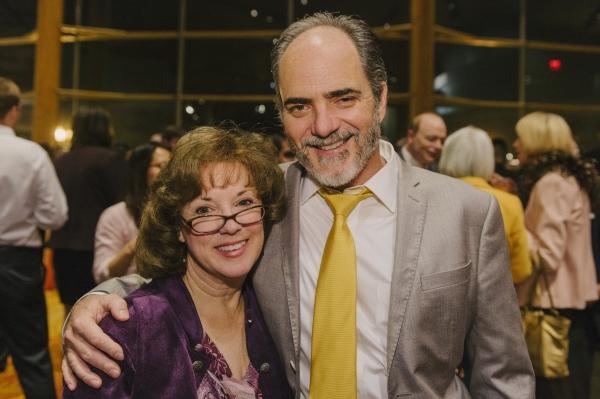 Cast members Sherri L. Edelen and Eric Hissom  Photo