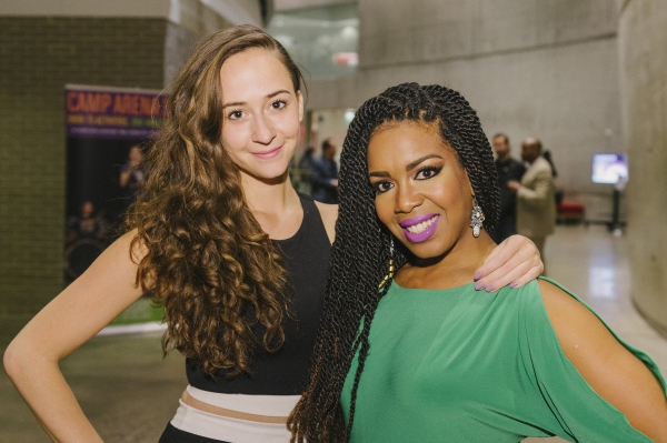 Cast members Rachel Esther Tate and Jessica Frances Dukes