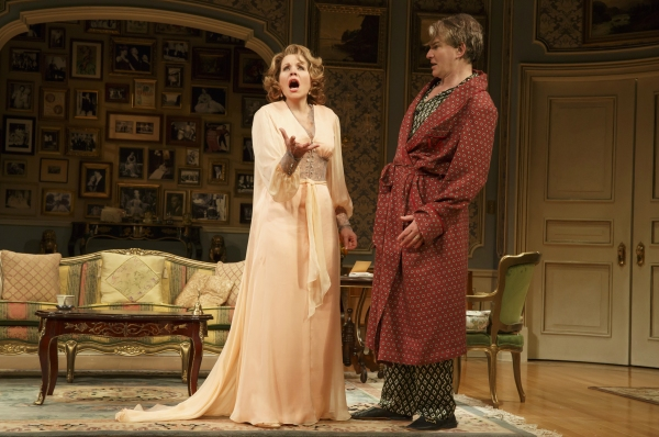 Photo Flash: First Look at Renee Fleming, Douglas Sills and More in Broadway's LIVING ON LOVE