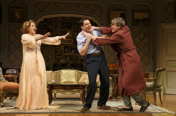 Renee Fleming as Raquel De Angelis, Jerry O''Connell as Robert Samson and Douglas Sills as Vito De Angelis