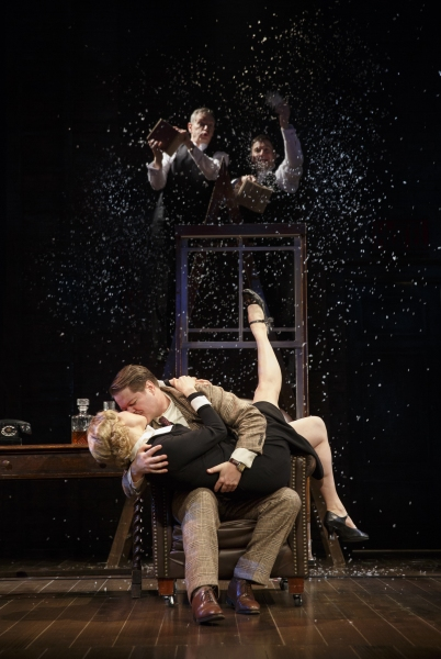 Photo Flash: First Look at Robert Petkoff, Arnie Burton and More in 39 STEPS Off-Broadway