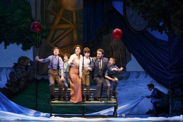 Sawyer Nunes, Alex Dreier, Laura Michelle Kelly, Aidan Gemme, Matthew Morrison and Ch Photo