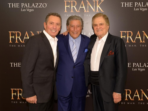 Bob Anderson, Tony Bennett and Vincent Falcone