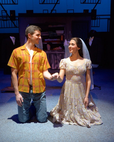 Zach Trimmer (Tony) and Carly Evans (Maria)