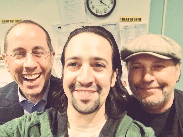 Jerry Seinfeld, Lin-Manuel Miranda, Billy Crystal