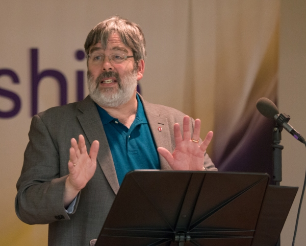 Keynote Speaker Professor Mark Shanda Photo
