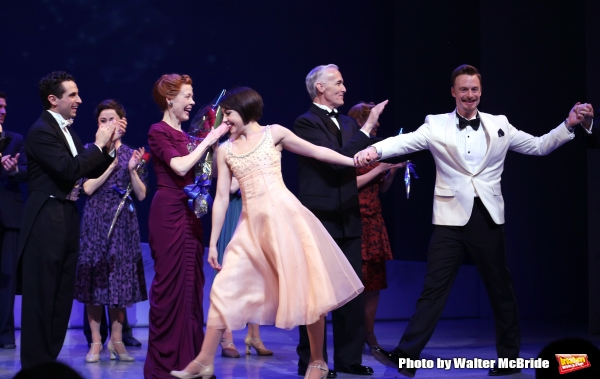 Brandon Uranowitz, Leanne Cox, Leanne Cope, Scott Willis, Christopher Wheeldon and cast