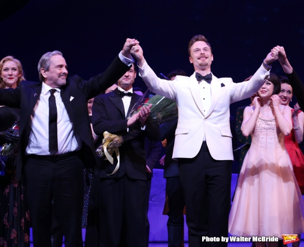 Jill Paice, Craig Lucas and Christopher Wheeldon