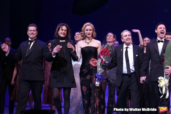 Victor J. Wisehart, Natasha Katz, Jill Paice, Craig Lucas and Max von Essen