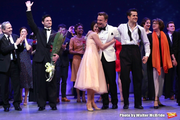 Craig Lucas, Max von Essen, Leanne Cope, Christopher Wheeldon, and Robert Fairchild