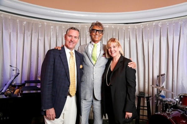 Rob Russell, Tommy Tune, Rena Blades Photo