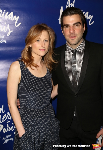 Mamie Gummer and Zachary Quinto
