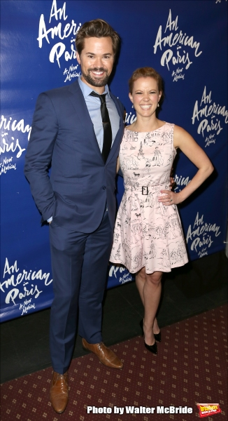 Andrew Rannells and Patti Murin