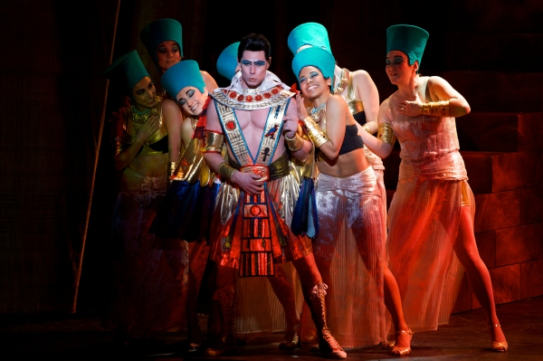 Ryan Williams as Pharaoh, and Company in ''Stone the Crows''