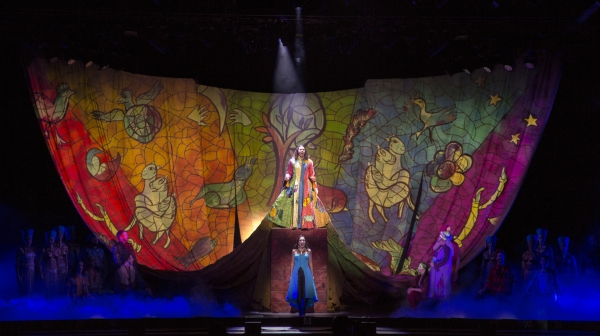 Ace Young as Joseph, Diana DeGarmo as Narrator and Company