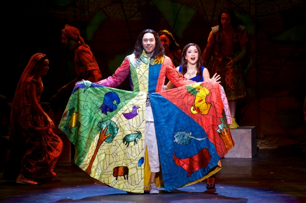 Ace Young as Joseph and Diana DeGarmo as Narrator in ''Jacob & Sons''