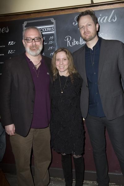 Ken Rus Schmoll, Jenny Schwartz and Todd Almond