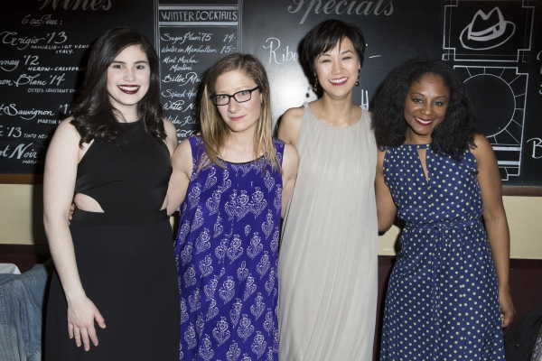 Carolina Sanchez, Annie McNamara, Cindy Cheung and April Matthis