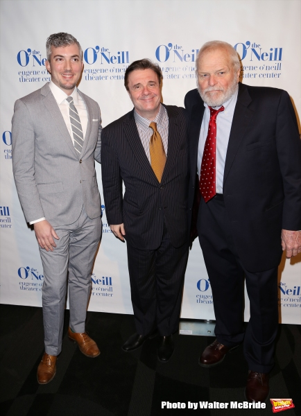 Executive Director Preston Whiteway, Nathan Lane and Brian Dennehy