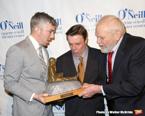 Execurive Director Preston Whiteway, Nathan Lane and Brian Dennehy
