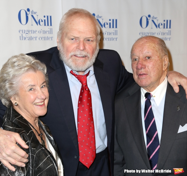 Betsy White, Brian Dennehy and George C. White