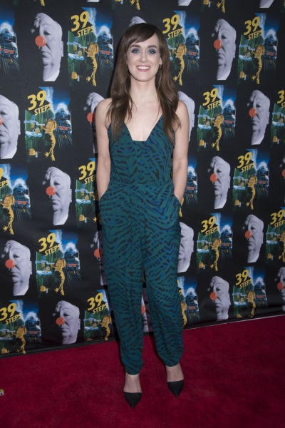 Photo Flash: THE 39 STEPS Opens Off-Broadway; On the Red Carpet with Brynn O'Malley, Jefferson Mays & More
