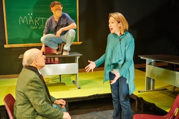 Photo Flash: First Look at MARTYR at Steep Theatre