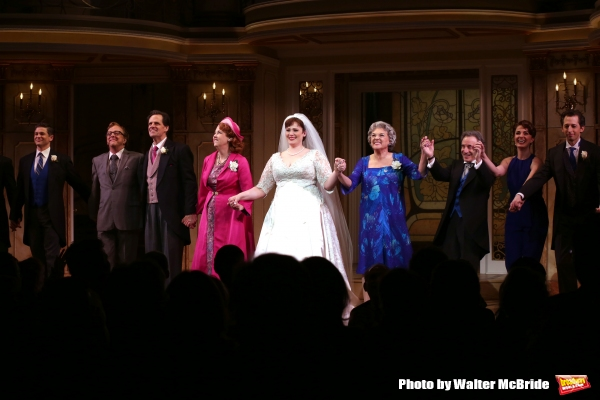 David Burtka, Edward Hibbert, Michael X. Martin, Harriet Harris, Lisa Howard, Tyne Daly, Chip Zien, Sierra Boggess and Josh Grisetti
