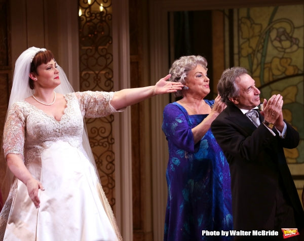 Lisa Howard, Tyne Daly and Chip Zien