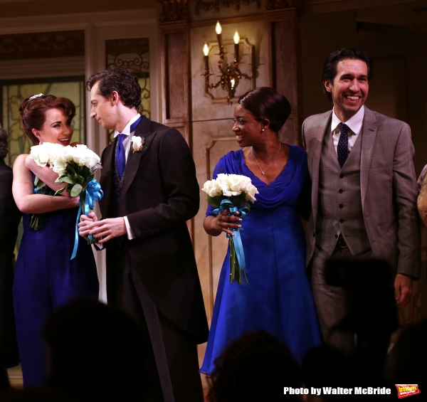 Sierra Boggess, Josh Grisetti, Montego Glover and Josh Rhodes