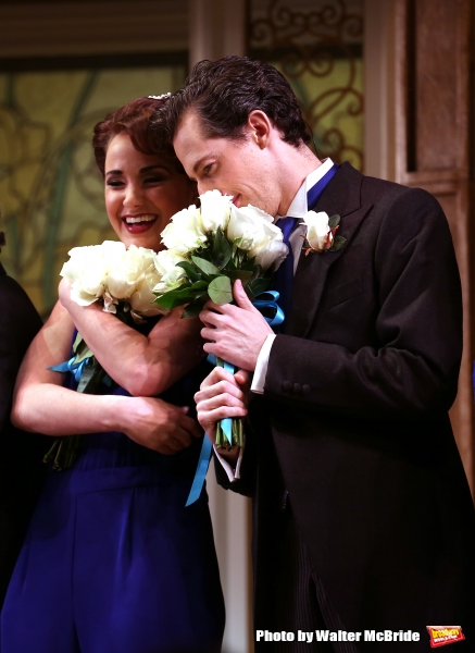 Sierra Boggess and Josh Grisetti