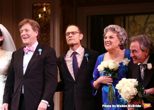 Brian Hargrove, David Hyde Pierce, Tyne Daly and Chip Zien