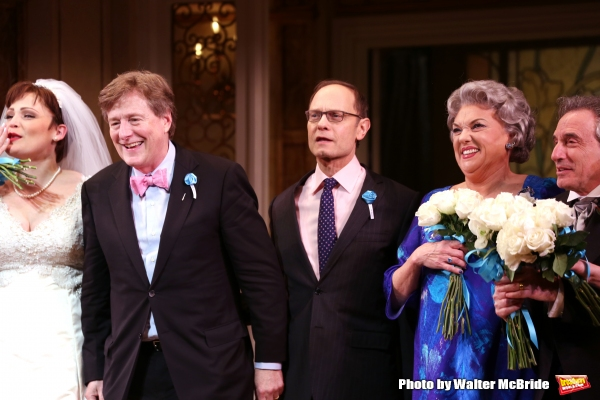 Lisa Howard, Brian Hargrove, David Hyde Pierce, Tyne Daly and Chip Zien