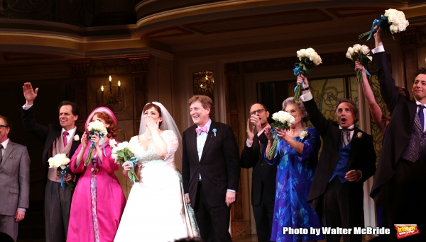 Michael X. Martin, Harriet Harris, Lisa Howard, Brian Hargrove, David Hyde Pierce, Tyne Daly, Chip Zien and Josh Grisetti
