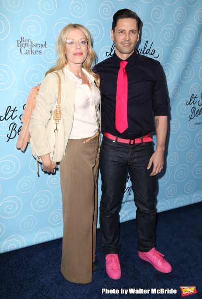 Sherie Rene Scott and Sean Palmer