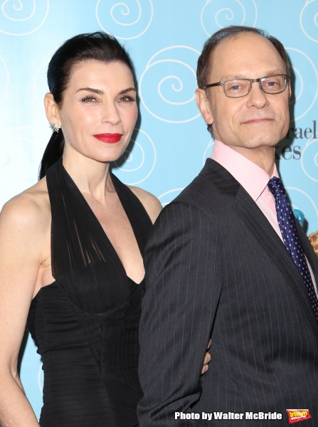 Julianna Margulies and David Hyde Pierce