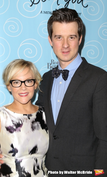 Rachael Harris and Christian Hebel