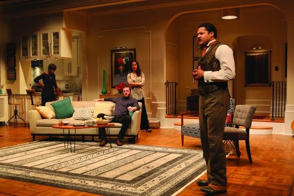 Brandon J. Dirden (Zeke), Roslyn Ruff (Janeece), Andrew Hovelson (Randall) and Merritt Janson (Judith)