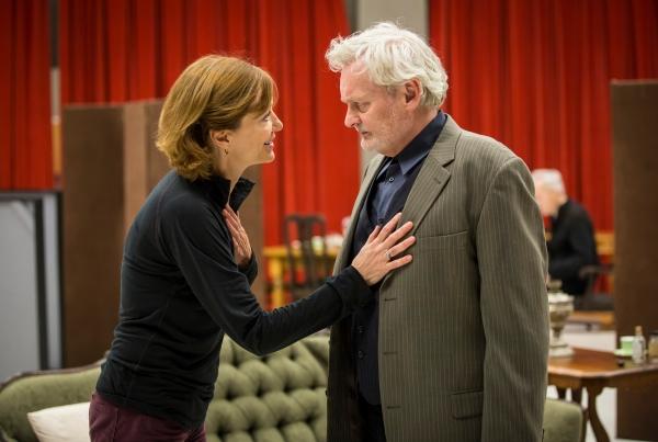 Shannon Cochran (Regina Giddens) and John Judd (Horace Giddens)