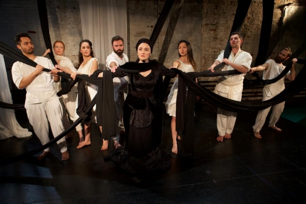 Photo Flash: First Look at Blessed Unrest's DORUNTINE with Teatri ODA