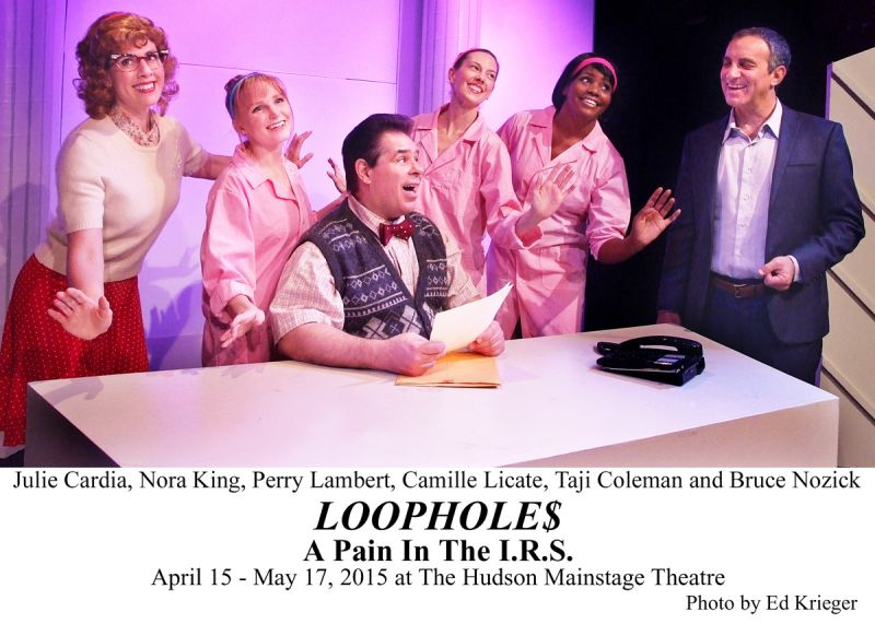 BWW Reviews: LOOPHOLES: A PAIN IN THE I.R.S. - Laughable Deductions to Claim