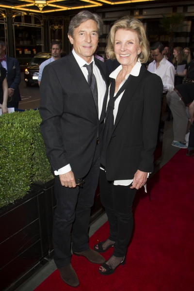 Nigel Havers and Rita Webb
