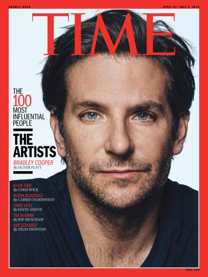 Audra McDonald, Bradley Cooper Among Time's 100 Most Influential People in the World; Full List! - final-cooper