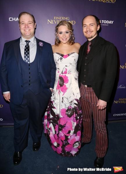 Josh Lamon, Jessica Vosk and Tyler Ross