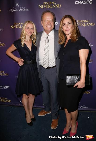 Kayte Walsh, Kelsey Grammer and Peri Gilpin