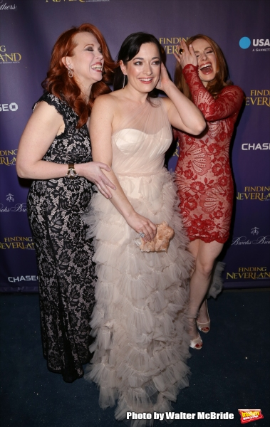 Carolee Carmello, Laura Michelle Kelly and Teal Wicks
