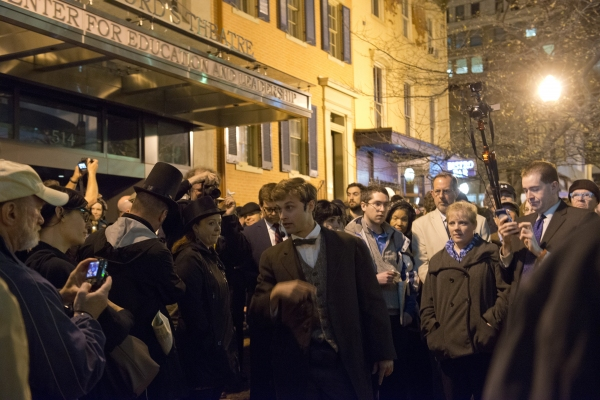 Photos: Ford's Theatre Commemorates President Lincoln in 'NOW HE BELONGS TO THE AGES'