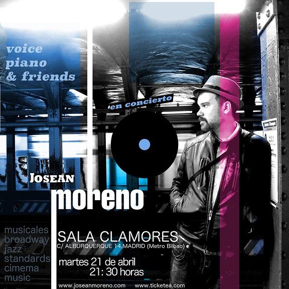 Concierto de Joseán Moreno en la Sala Clamores de Madrid