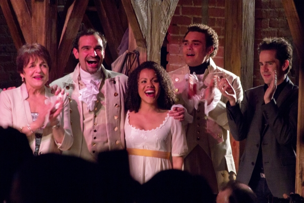 Photo Coverage: HAMILTON Cast Celebrates 40th Anniversary of A CHORUS LINE at the Public!