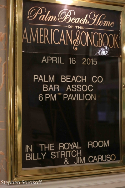 Photo Coverage: Jim Caruso & Billy Stritch Play The Colony Hotel's Royal Room